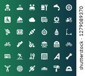 wheel icon set. collection of...   Shutterstock .eps vector #1279089370