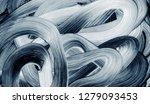 grunge brush strokes abstract... | Shutterstock . vector #1279093453