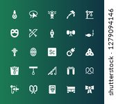 knot icon set. collection of 25 ... | Shutterstock .eps vector #1279094146