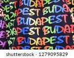 shop decorations. budapest.... | Shutterstock . vector #1279095829