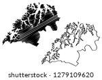 troms  administrative divisions ...   Shutterstock .eps vector #1279109620