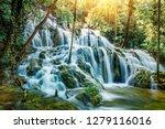 stunning spring view of... | Shutterstock . vector #1279116016