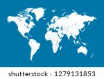 color world map vector | Shutterstock .eps vector #1279131853