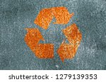 rust stained corroded metal... | Shutterstock . vector #1279139353
