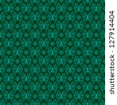 Seamless Rich Green Damask