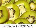 full frame shot of tropical... | Shutterstock . vector #127915613