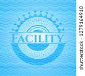 facility water emblem... | Shutterstock .eps vector #1279164910