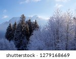 fresh night snow covering the... | Shutterstock . vector #1279168669