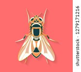 fly label design. abstract... | Shutterstock .eps vector #1279171216