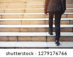 modern businessman hand holding ... | Shutterstock . vector #1279176766