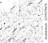 rough grunge pattern design.... | Shutterstock .eps vector #1279179673
