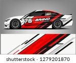 Racing Car Wrap Design. Sticker ...