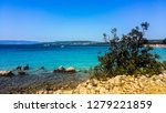 beautiful rocky adriatic coast... | Shutterstock . vector #1279221859