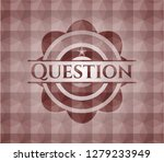 question red seamless emblem... | Shutterstock .eps vector #1279233949