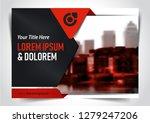 vector brochure  flyer ... | Shutterstock .eps vector #1279247206