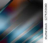 blue abstract silver metal... | Shutterstock . vector #1279253080
