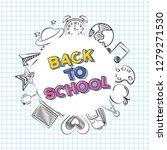 back to school | Shutterstock .eps vector #1279271530