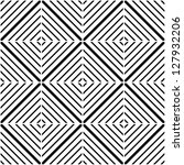 seamless vector geometric... | Shutterstock .eps vector #127932206
