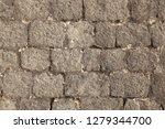 big rough gray stones forming...   Shutterstock . vector #1279344700