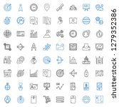 arrow icons set. collection of... | Shutterstock .eps vector #1279352386