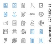 yes icons set. collection of... | Shutterstock .eps vector #1279352416