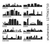 africa cities most famous... | Shutterstock .eps vector #1279361710