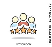 business client icon  people... | Shutterstock .eps vector #1279368016