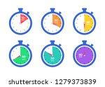timer. stopwatch. countdown 10... | Shutterstock .eps vector #1279373839