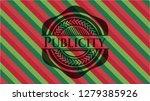 publicity christmas colors... | Shutterstock .eps vector #1279385926