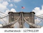 The Brooklyn Bridge In New Yor...