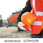 construction safety concept | Shutterstock . vector #127941539