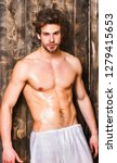 bachelor sexy body chest and... | Shutterstock . vector #1279415653