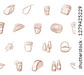 various images set. background...   Shutterstock .eps vector #1279425229