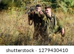 hunting with friends hobby... | Shutterstock . vector #1279430410