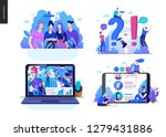 business series set  color 2 ... | Shutterstock .eps vector #1279431886
