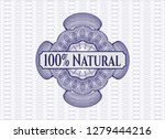blue abstract rosette with text ...   Shutterstock .eps vector #1279444216