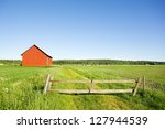 countryside in finland | Shutterstock . vector #127944539
