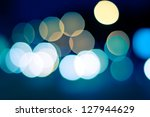 sparkling and defocused lights... | Shutterstock . vector #127944629