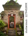balinese doorway entrance with... | Shutterstock . vector #1279453999