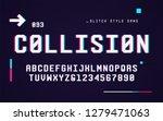 technology san serif uppercase... | Shutterstock .eps vector #1279471063