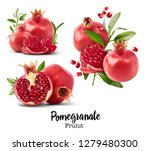 set with different fresh ripe... | Shutterstock . vector #1279480300