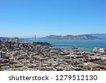 view from coit tower in san... | Shutterstock . vector #1279512130