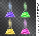 elixir bottles vector set... | Shutterstock .eps vector #1279527640