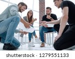successful partners during... | Shutterstock . vector #1279551133