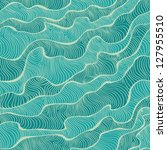 sea texture. decorative blue... | Shutterstock .eps vector #127955510