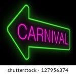 illustration depicting a neon... | Shutterstock . vector #127956374