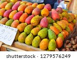 colorful fruit of the prickly...   Shutterstock . vector #1279576249