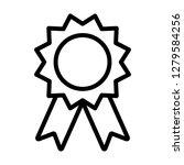 award badge or winning prize... | Shutterstock .eps vector #1279584256