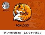 professional fox logo template. ... | Shutterstock .eps vector #1279594513