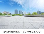 city square floor and modern... | Shutterstock . vector #1279595779